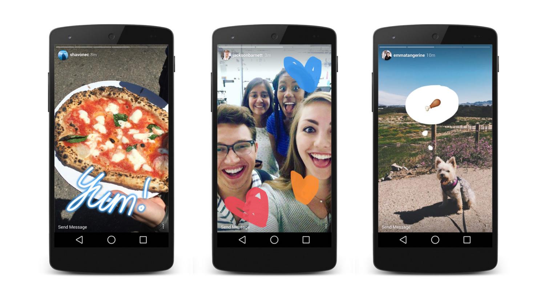 Instagram imita a Snapchat con su nueva función