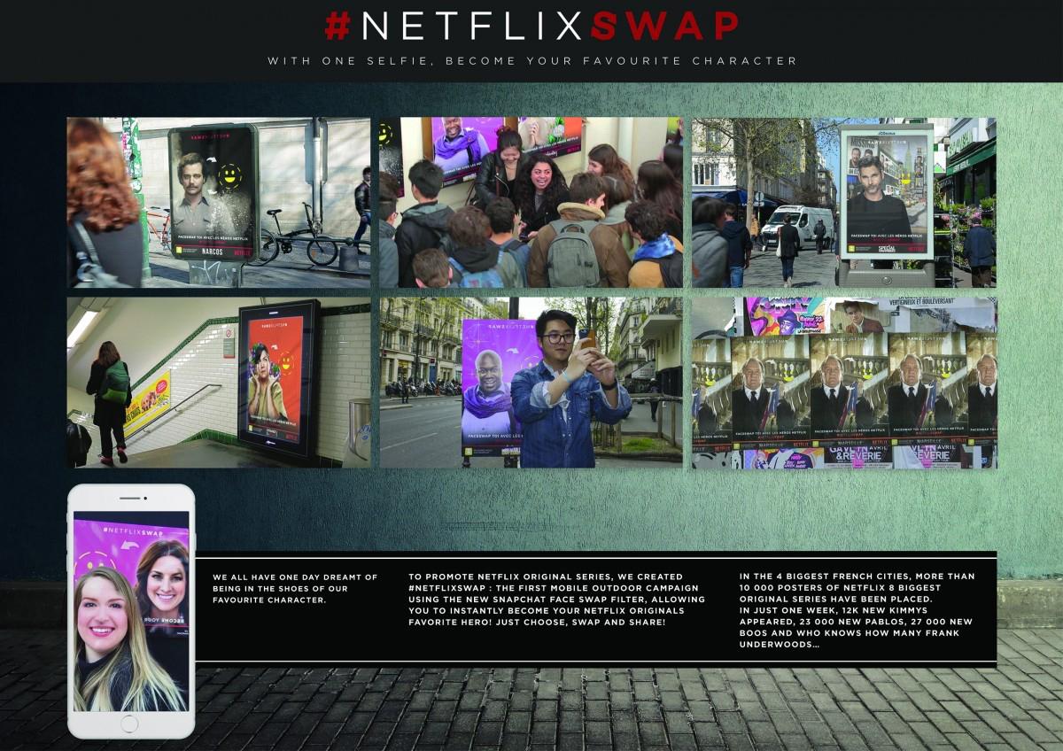 Una selfie te transforma en tu personaje de Netflix favorito