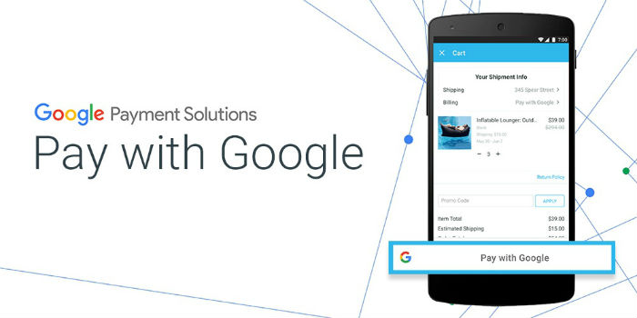 Pagar compras en línea ahora es posible con Google Payments