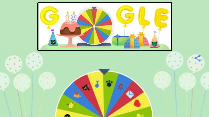 El buscador Google festeja su aniversario número 19 con minijuegos