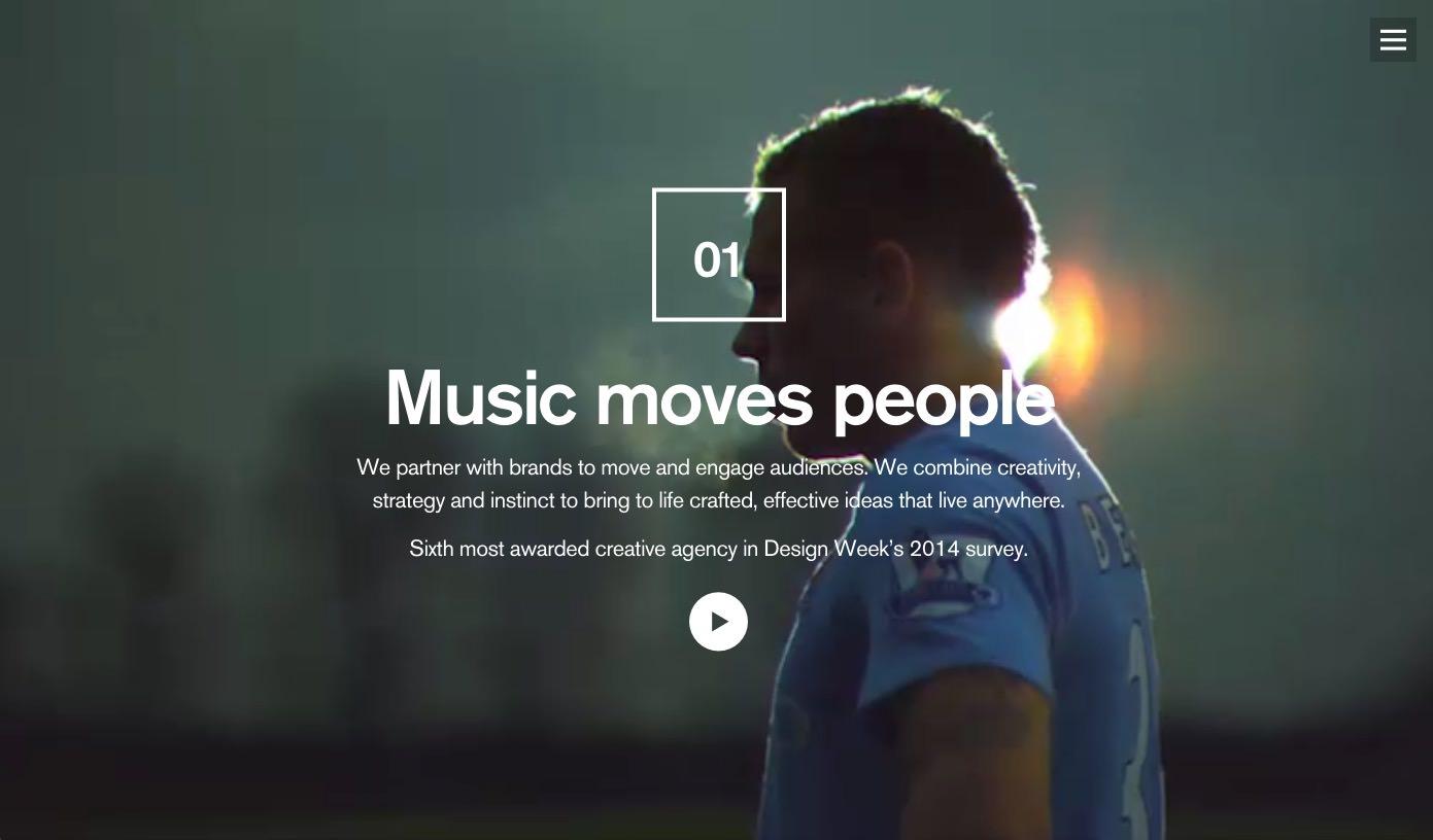 Las mejores páginas web con cabezotes en video