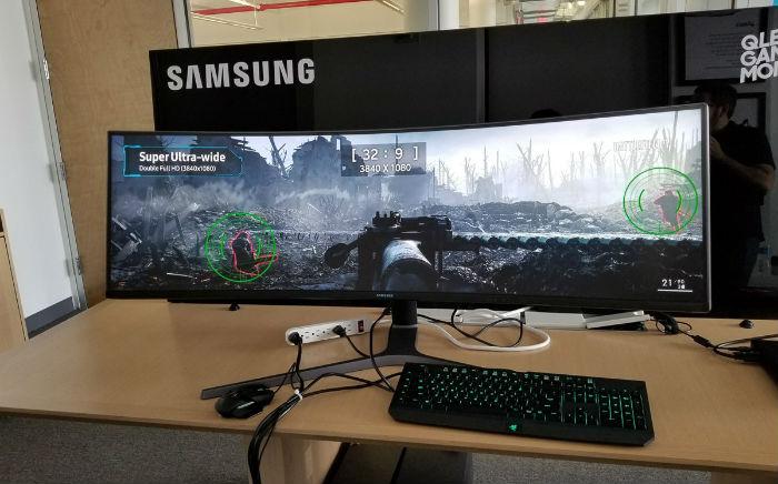 Samsung presenta una pantalla diseñada especialmente para videojuegos
