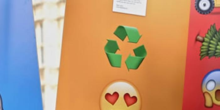 Los emojis se toman las pancartas para protestar por el cambio climático