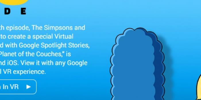 Los Simpsons celebran su capítulo 600 con Realidad Virtual