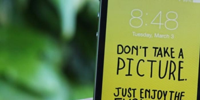 Fondos de pantalla para que uses menos tu dispositivo móvil