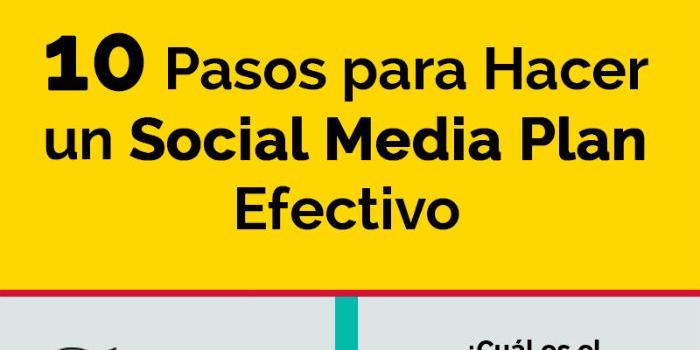 Diez pasos para hacer un plan de Social Media efectivo