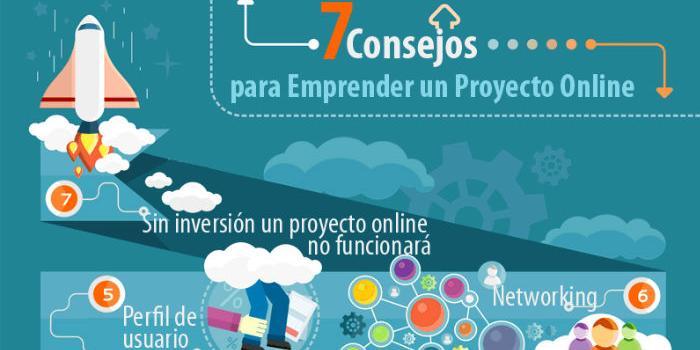 7 pasos para emprender un Proyecto Online
