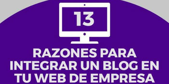 13 razones para integrar un blog a la empresa