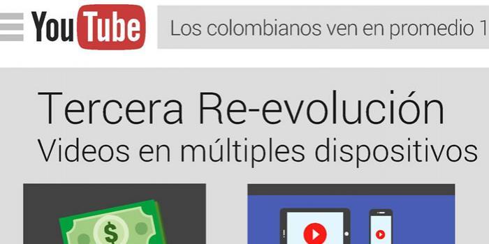 Colombia es el segundo país con mayor consumo de video online