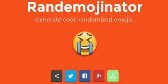 Randemojinator: elige y comparte divertidos emojis en tus redes sociales