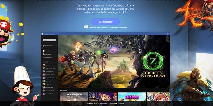 Gameroom, la nueva plataforma de Facebook para videojuegos