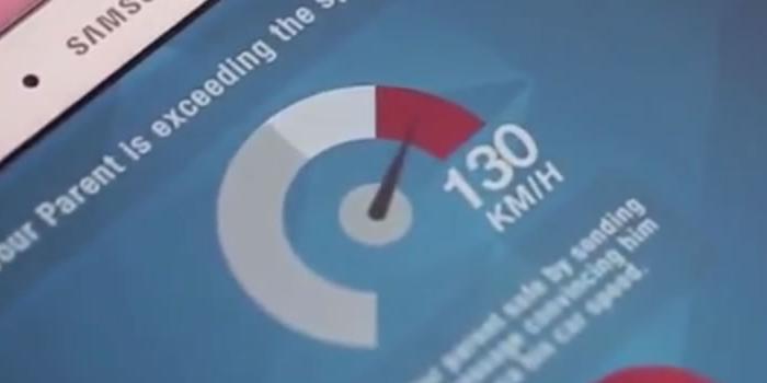 App para que los niños cuiden a sus padres cuando exceden la velocidad