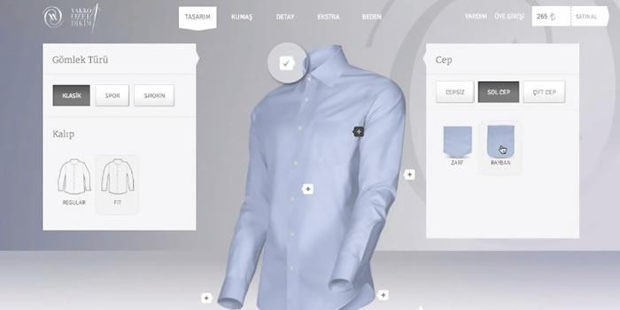 Tiendas virtuales para comprar productos personalizados