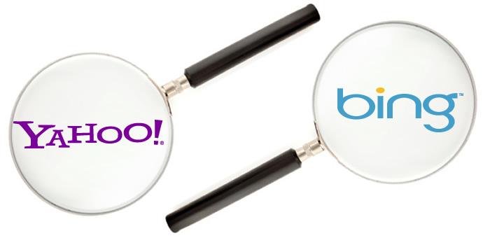 Yahoo! y Bing, lo esencial de estos buscadores