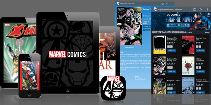La nueva forma de leer cómics en versión digital