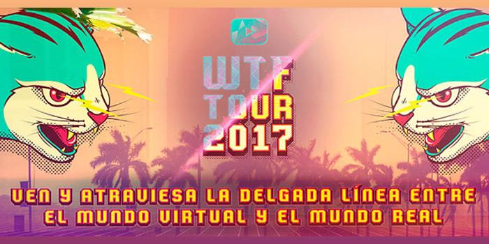 Los YouTubers locales más destacados en un mismo escenario #WTFTour2017