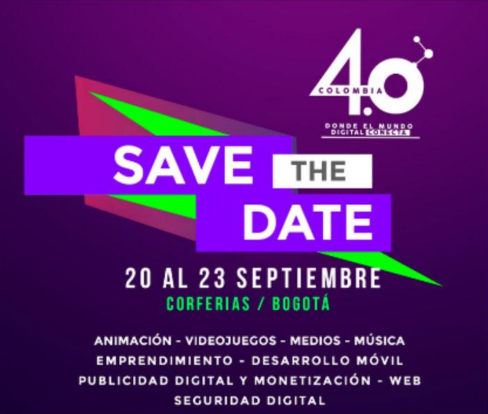 Cumbre de Contenidos Digitales de Latinoamérica: Colombia 4.0