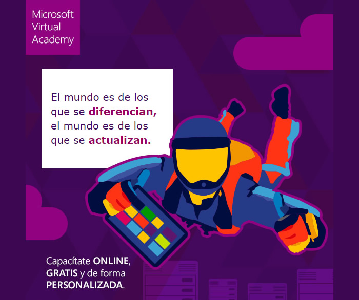 Cursos en línea con Microsoft Virtual Academy